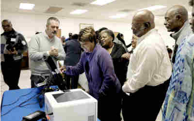 Voting machine demonstration Saturday at Olive Road church
