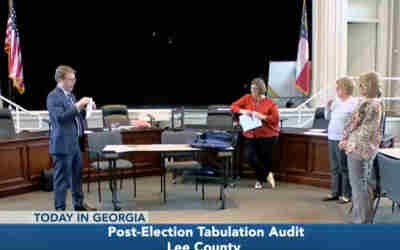 Tabulation audit done on votes for Ga. Senate District 13 race