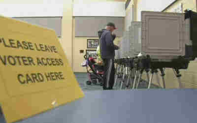 New paper ballot voting system is a hit, voters say